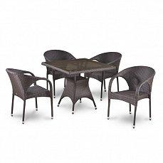 Комплект мебели 4+1 Т220BВТ/ Y290В-W52 иск. ротанг