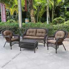 Комплект мебели (иск.ротанг) 2+1+2 LV520BB