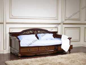 Афина кровать 90х200 орех