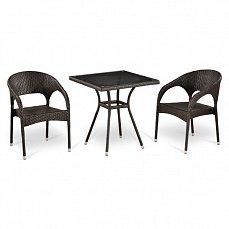 Комплект мебели  2+1 Т282BNT/ Y90С-W51 иск. ротанг
