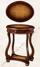 Стол подставка под телефон 1110 орех