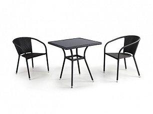 Комплект мебели 2+1 T282BNS/Y137C-W53 Brown 2Pcs иск. ротанг