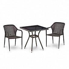 Комплект мебели  2+1 Т282BNT/ Y35-W2390 иск. ротанг