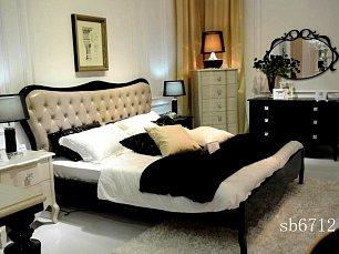 Хемис спальня шампань-блек глянец