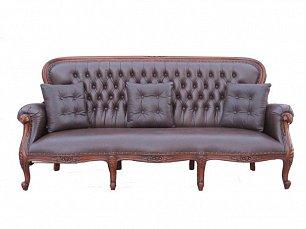 Гамма диван 3 местный с подушками C11E-ASD-BRL