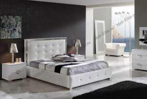 Коко 624 спальня Дюпен белый