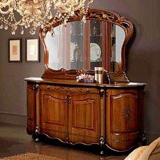 Аллегро SL комод с навесным зеркалом орех