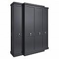 Эстейт шкаф 4 дверный E124H-B-N