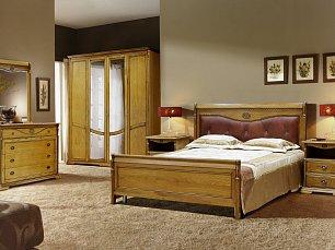 Лика спальня медовый дуб