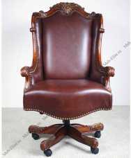 Луи 15 (Louis XV) кресло рабочее 521B орех