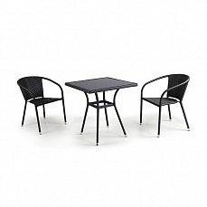Комплект мебели 2+1  T282BNS/ Y137C-W51-2PCS иск. ротанг