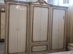 Милана 3886 ФБ шкаф 6 дверный