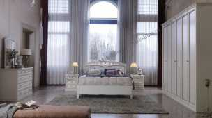 Аврора спальня белая