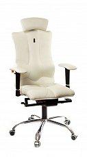 ELEGANCE кресло рабочее белое (перфорированное)