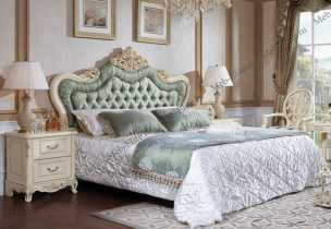 Белый Цветок кровать 180х200 9905-С/8801