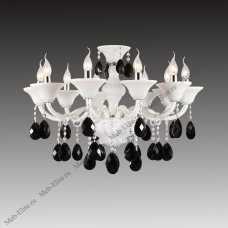 BIANCA люстра подвесная Арт.881100 (MD800008-10) 10х60W E14 белый