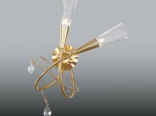 AEREO Бра Арт.711633 (SB1105/2R) 2х40W G9 gold toil