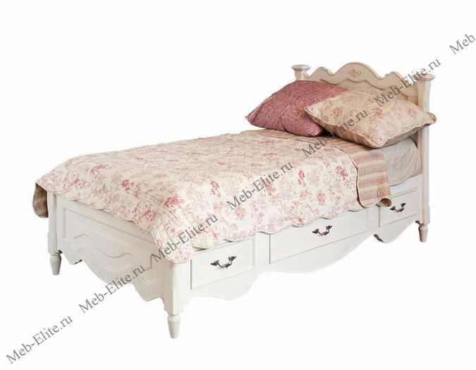 Кровать 90х190 с тремя ящиками Fleur D'artichaut (Флер Д'артишо)