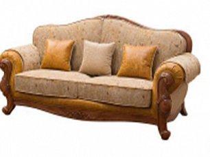 Карпентер 230-1  диван С 3 местный  (Орех, ткань ST9-4)