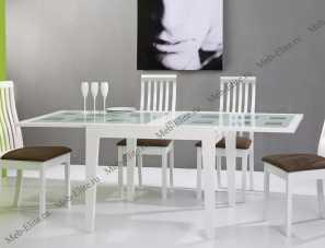 Стол обеденный 90/180х90 Бенсон 90