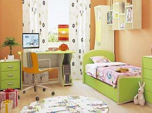 Комби МН-211 спальня комплект: комбинированный шкаф (МН-211-20) + кровать (МН-211-09) + комод (МН-211-24) + стол (МН-211-05)