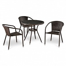 Комплект мебели 3+1 T283ANT/ Y137C- W51-3PCS иск. ротанг