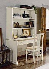Аврора стол письменный (белый)