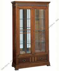 Кембридж витрина 2 дверная