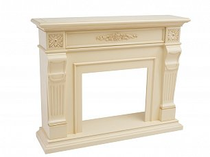 Белый Цветок портал камина