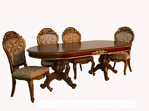 Юлиана 3172 стол обеденный раскладной 240/350х120