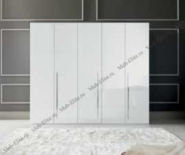 Каприз шкаф 5 дверный белая