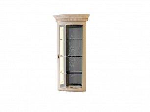 Милан витрина 1-дверная угловая 6 позитано