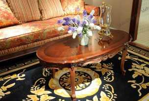 Луи 15 (Louis XV) стол журнальный 633-2 орех
