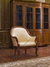 Карпентер 230-1 кресло (кожа A008/ПВХ)