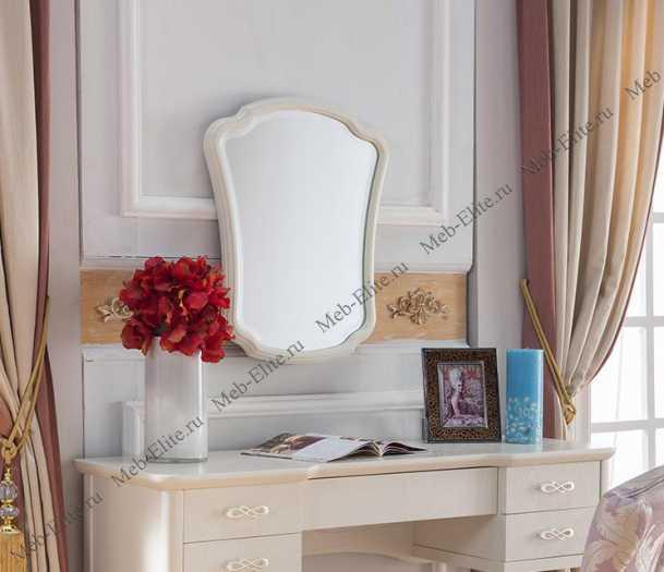 Карпентер 309 зеркало к туалетному столику В слоновая кость
