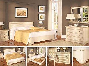 Венеция спальня белая