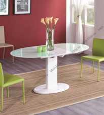 Мик стол обеденный 120/160х80 MK-5901-BW