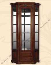 Валенсия С05 витрина угловая