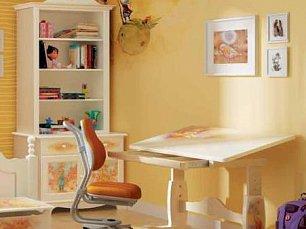 Маленький принц шкаф-стеллаж 2 двери детский