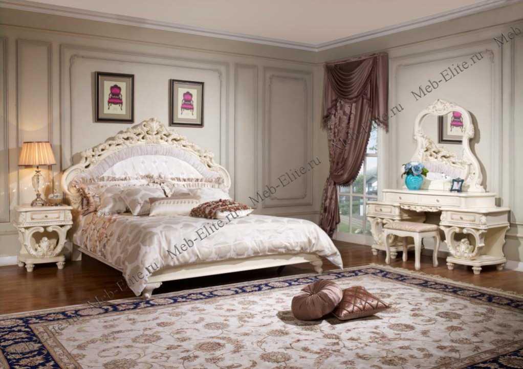 офелия спальня белая купить со склада в интернет магазине мебели