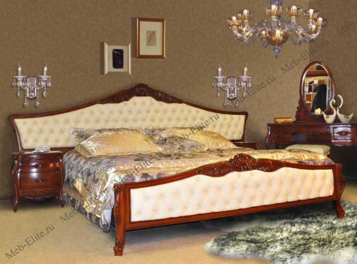 Махагони спальня орех