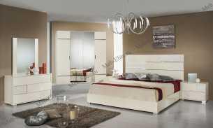 Анкона спальня комплект: кровать 160+2 тумбы+комод с/з+шкаф-купе