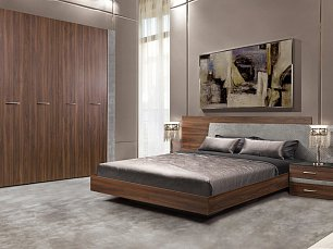 Челси Элеганс спальня орех каннеро/серый