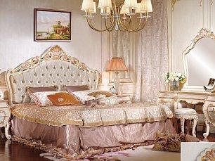 Лайма спальня комплект: кровать 180х200 + 2 тумбы прикроватные + туалетный стол с зеркалом+ шкаф 4 дверный