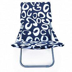 Белла-1 кресло-шезлонг CHO-134B-1H-1E Blue ткань