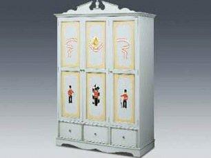 Гусары шкаф 3 дверный (423) детский
