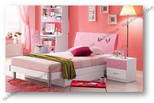 Пиккола спальня детская комплект: кровать 120х200+тумба прикроватная+шкаф 2 дверный