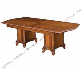 Карпентер 230-1 стол обеденный раздвижной 200/240х115 орех светлый тон