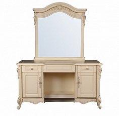 Милано стол туалетный с зеркалом арт. MK-1839-IV
