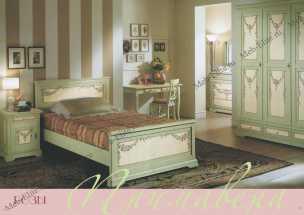 Розы (Примавера) спальня детская